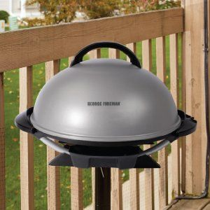 Amazon.com: George Foreman GFO240S Indoor/Outdoor Electric Grill ...