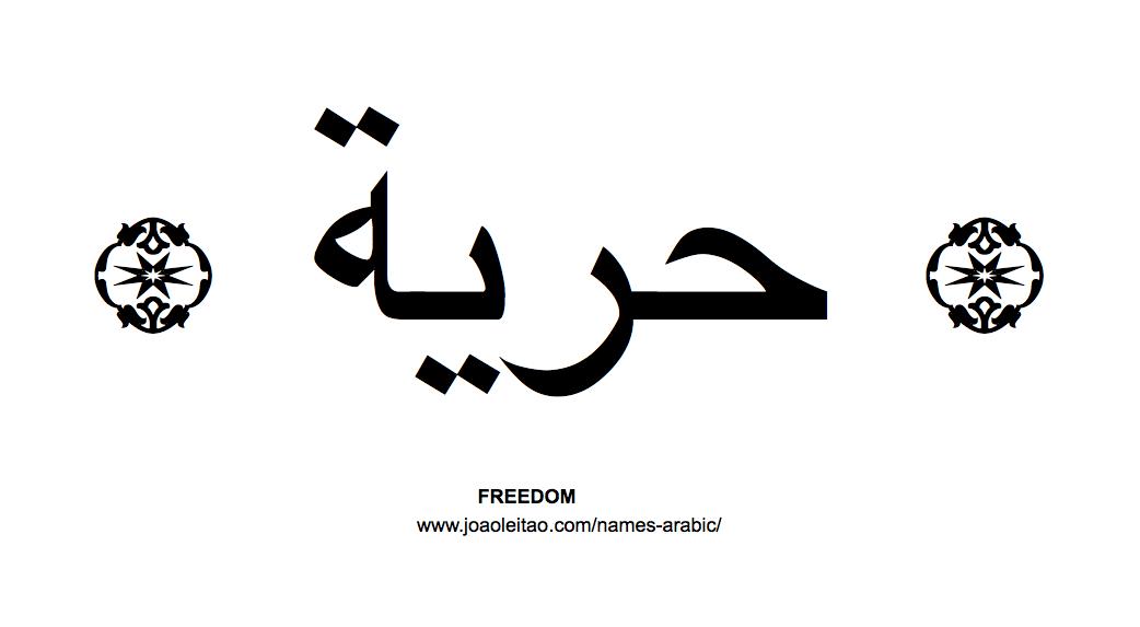 Beautiful words in arabic tattoo tatoo and tatoos for Beautiful in arabic tattoo