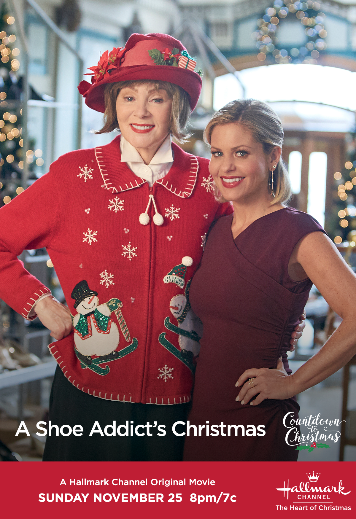 When Noelle Candace Cameron Bure Gets Locked In Overnight In A Department S Hallmark Channel Christmas Movies Hallmark Christmas Movies Christmas Shoes Movie