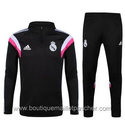 Survêtement de foot Adidas formation Real Madrid 2015 Noir