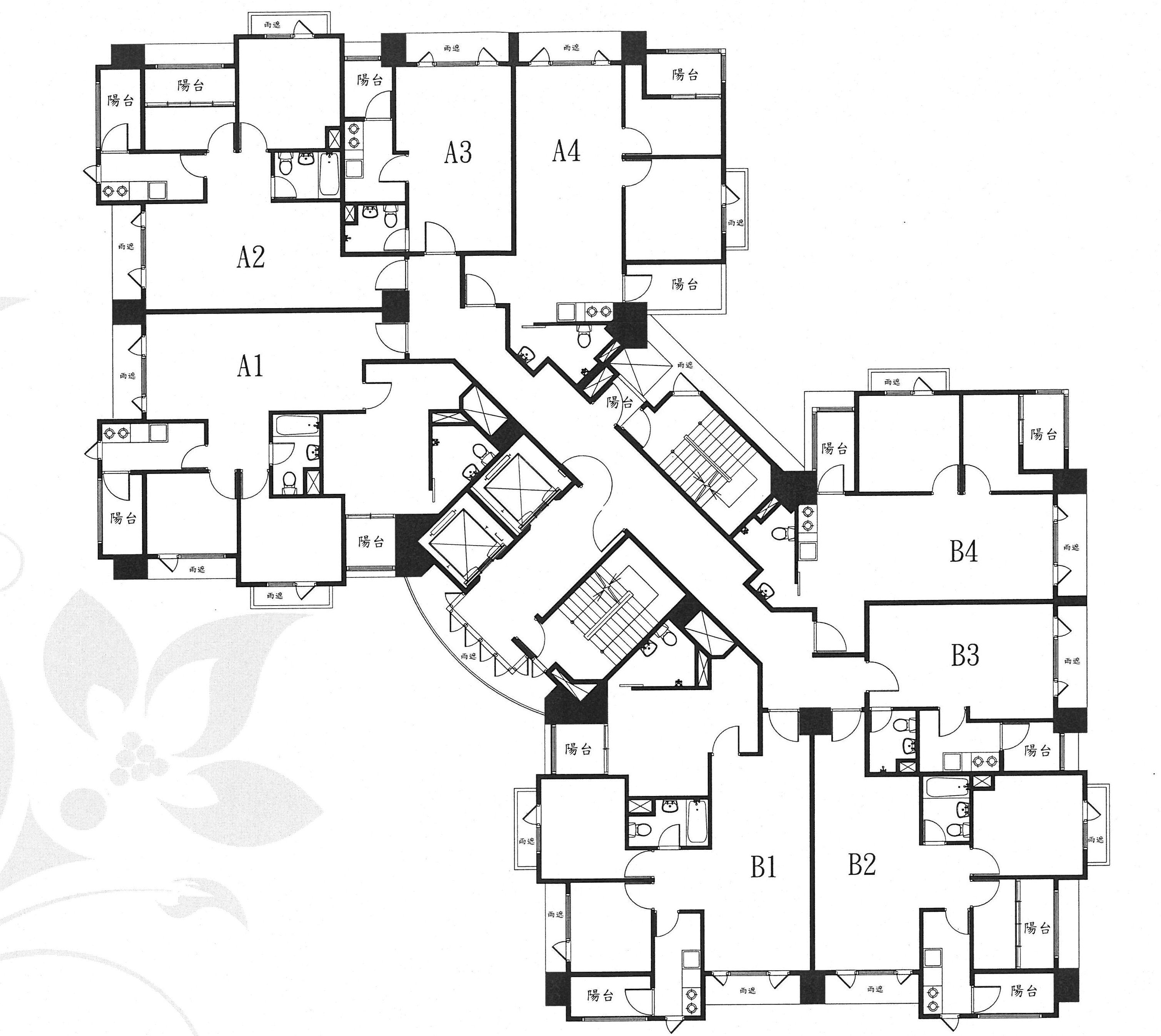 Propuesta Hotel Floor Plan Hotel Design Architecture Architectural Floor Plans