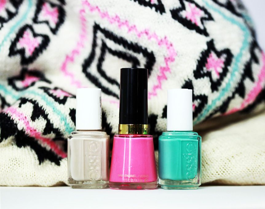 #Thesundaynailbattle // Inspiration Poncho