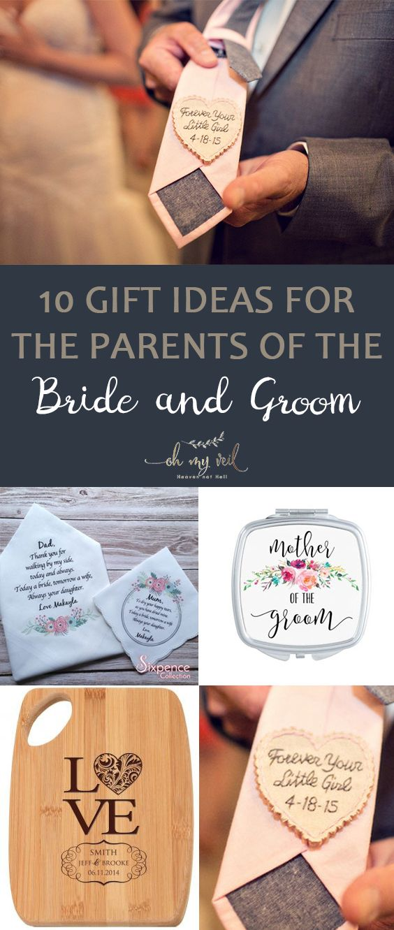 10 Gift Ideas For The Parents Of The Bride And Groom Parent Gifts