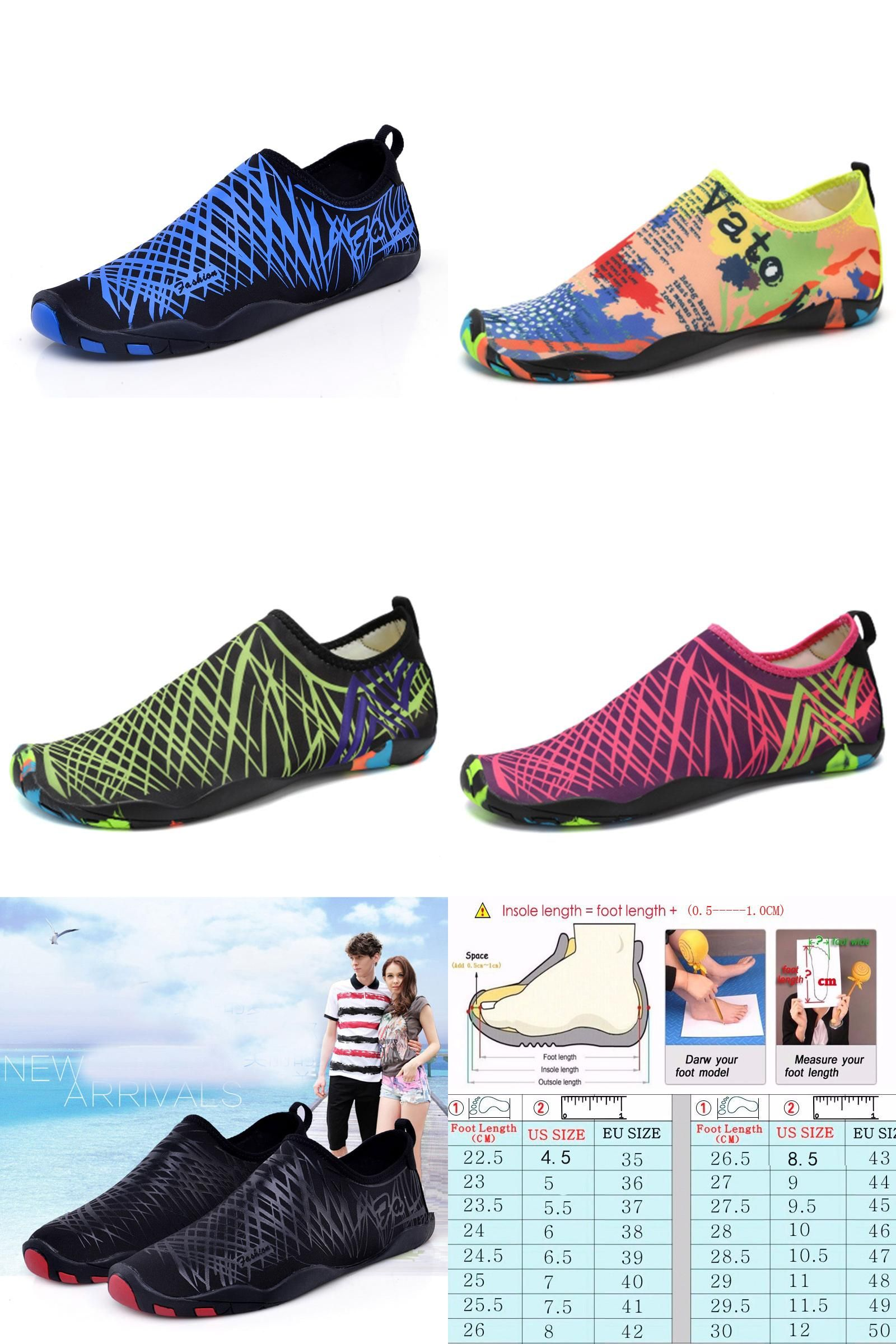 a017e870d5 [Visit to Buy] Summer Men Beach Water Shoes Outdoor Walking Shoes Barefoot  Skin Shoes Breathable sapato masculino Fishing Aqua Shoes #Advertisement