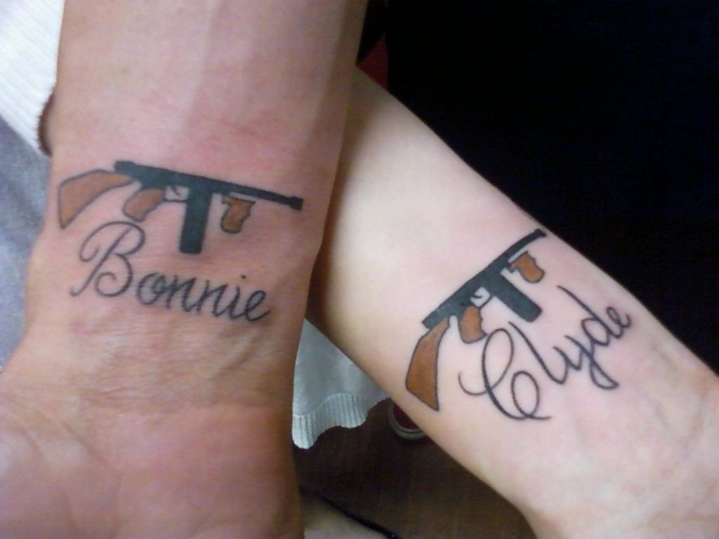 31 Best Matching Tattoos For Couples Cool Love Design - Boyfriend and girlfriend tattoo ideas married couple tattoo