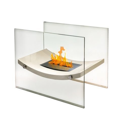 Broadway Glass Bio Ethanol Tabletop Fireplace Tabletop Fireplaces Glass Fireplace Portable Fireplace