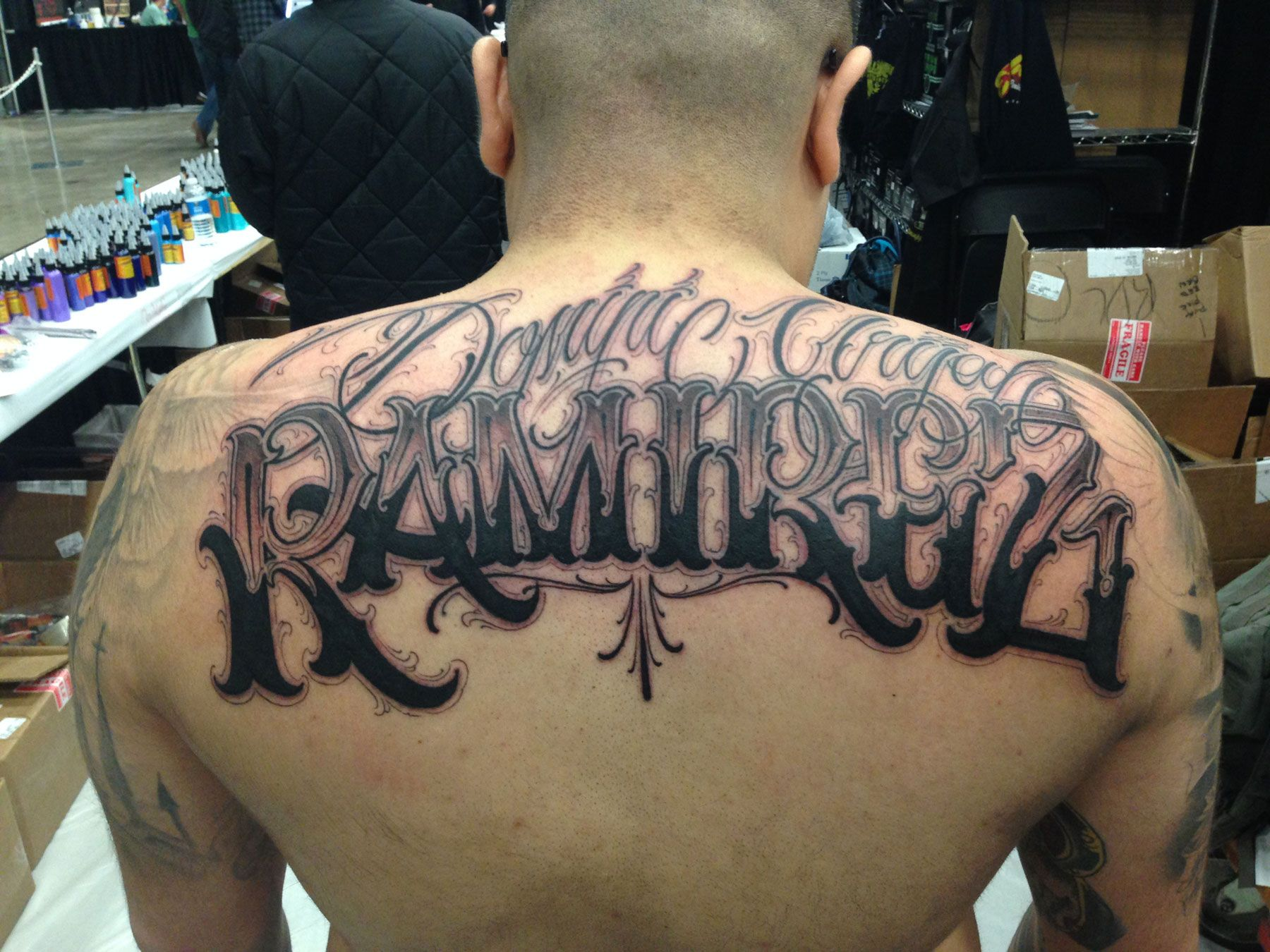 Portfolio Big Meas Tattoo Lettering Design Tattoo Fonts Tattoo Lettering