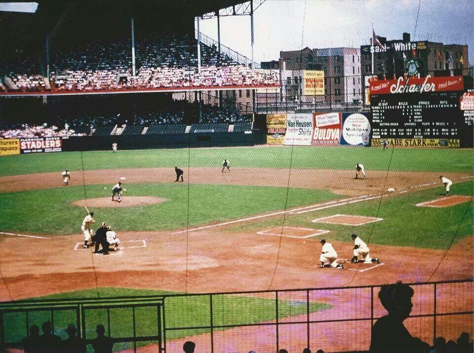 Ebbets Field Brooklyn Baseball Park Major League Baseball Stadiums Mlb Stadiums