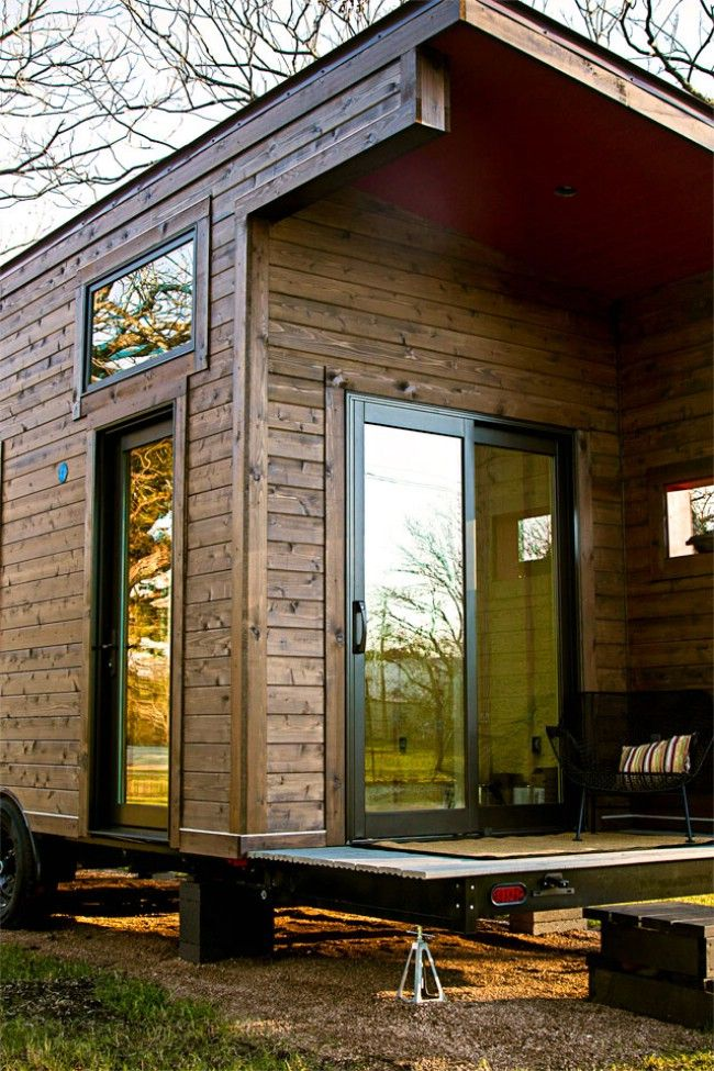 Tiny Home Designs: 260 Square Foot Single Loft Model By Tex Zen Tiny Home