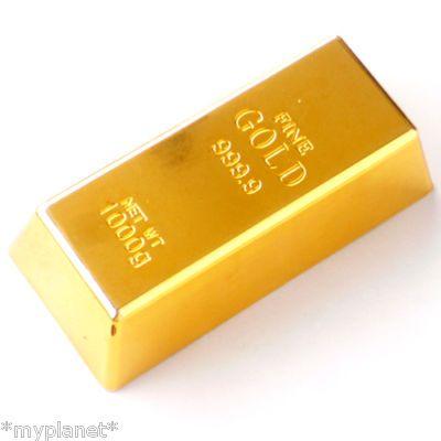 1kg Gold Bar Bullion Door Stop Gadget Paperweight Gold Bar Gold Door Gold