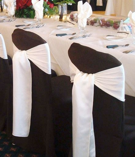 20 Inspiring And Affordable Wedding Chair Decorations Banquet Chair Covers Black Chair Covers Wedding Chair Decorations