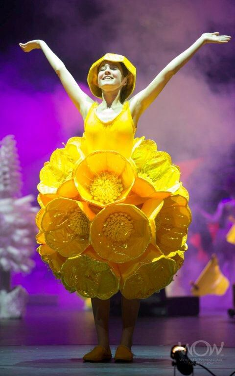 Buttercup Buttercup. Paula Rowan New Zealand. Photo credit: World of Wearable Art Ltd #wearableart