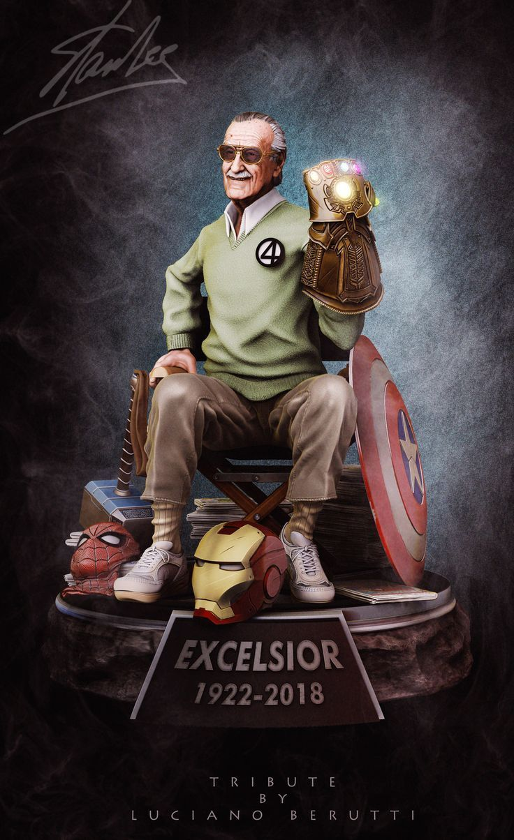 #Marvels-Hommage an Stan Lee - Sammlerstatue, Luciano Berutti auf ArtStation unter www.artstation.co ...   - Mike Zealley-#Marvels #marvelavengers #Marvels-Hommage an Stan Lee - Sammlerstatue, Luciano Berutti auf ArtStation unter www.artstation.co ...   - Mike Zealley-#Marvels #marvelavengers