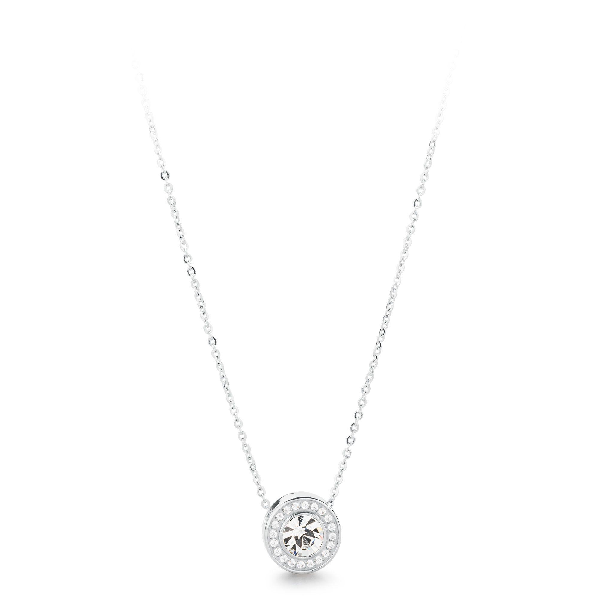 COLLEZIONE | STARDUST | S'Agapõ #fashion #necklace #collana #white #crystals #cristalli