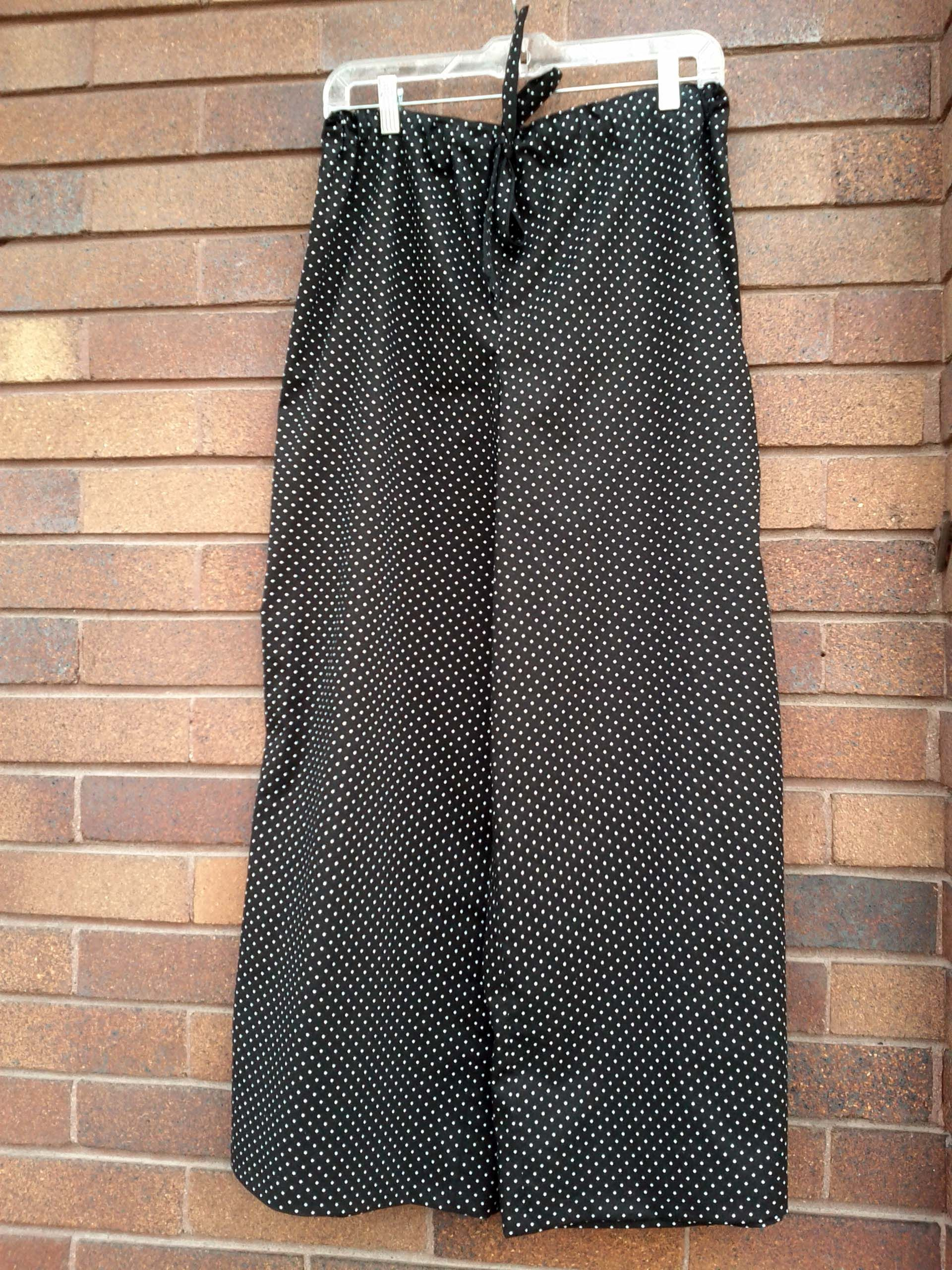 Amy Butler Wide Leg Lounge Pants: Polka dot loungers finished! This ...