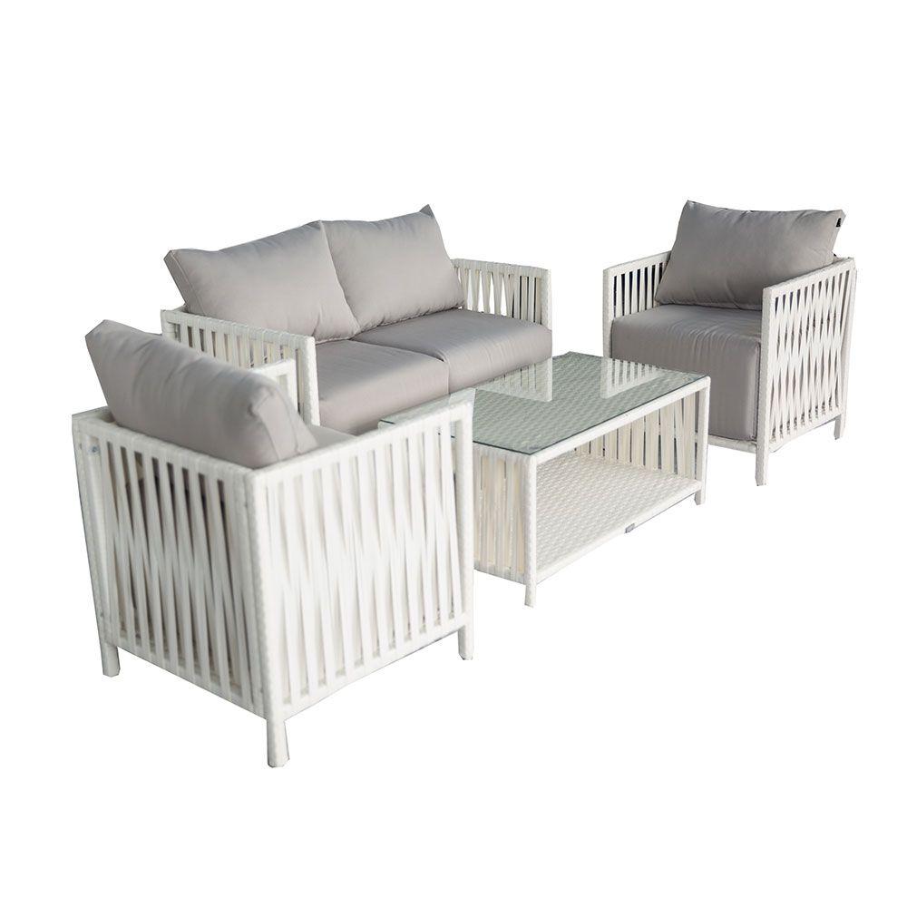 Sofa Covers Buy Luxo Faros Wicker Outdoor Sofa Setting White Online Australia