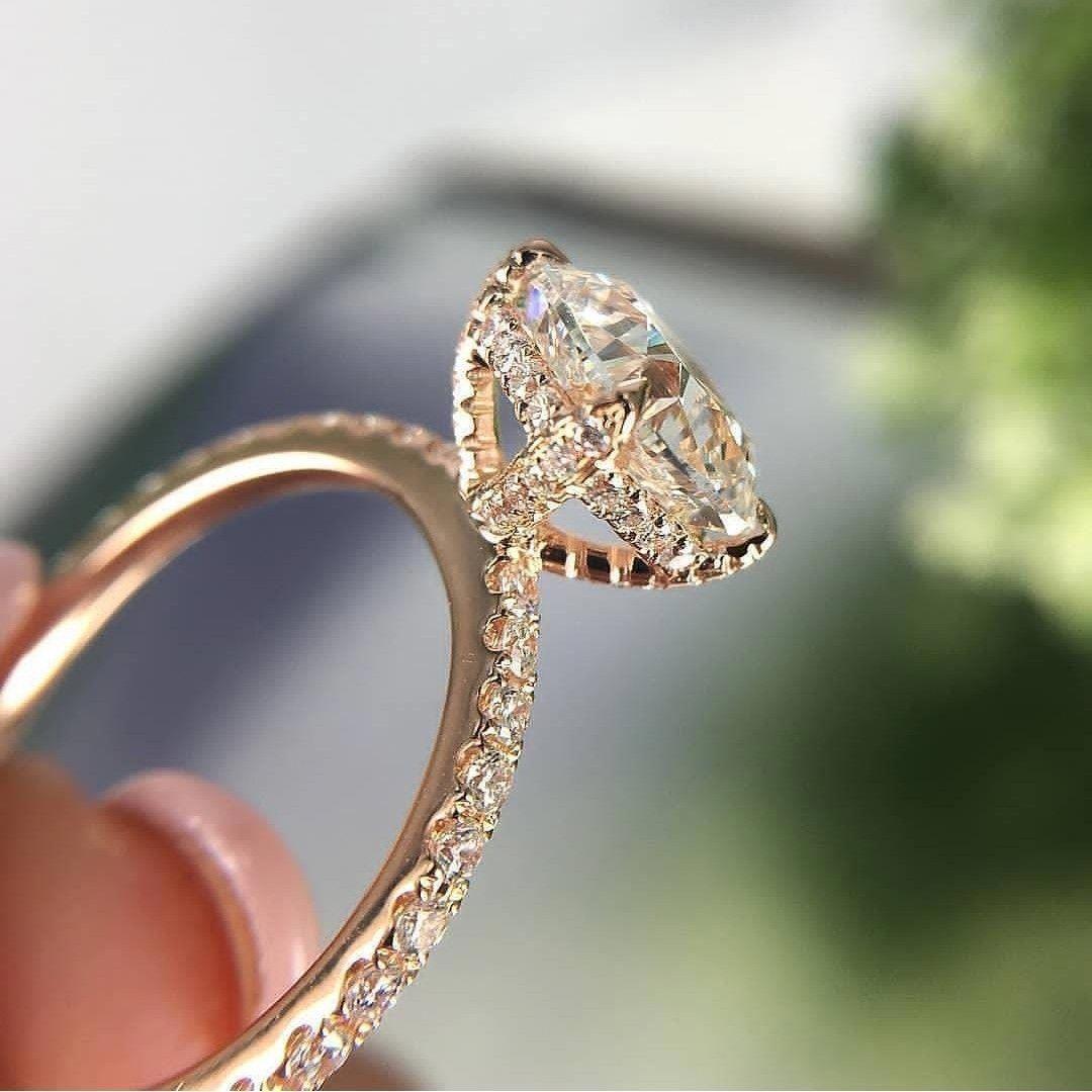 rose gold engagement rings.... rosegoldengagementrings