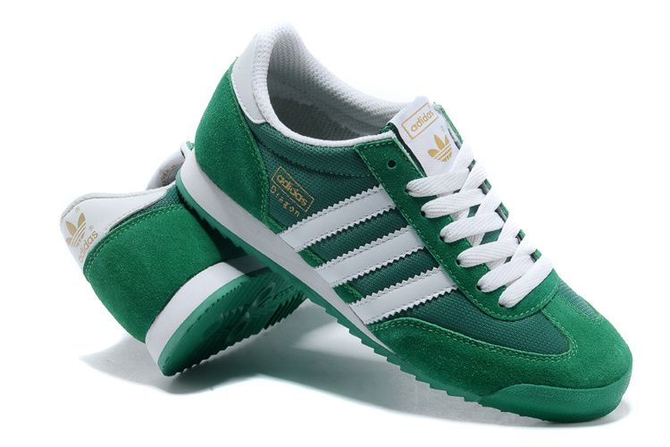 a1a53693f7a4 adidas dragon green white - Google Search
