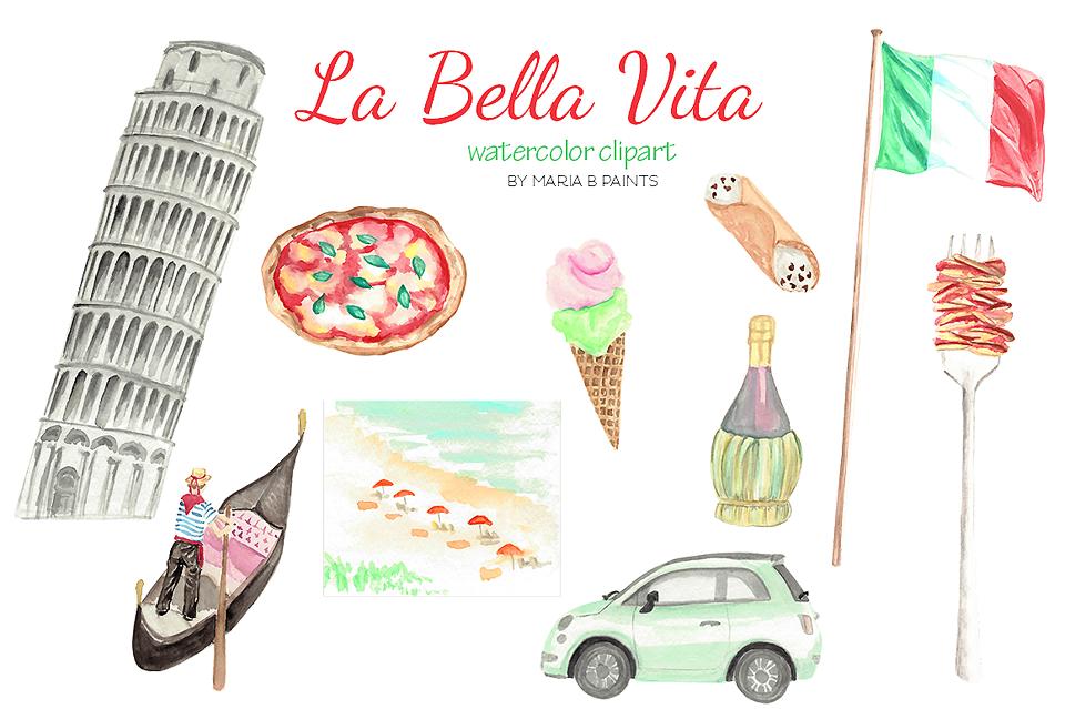 watercolor clip art italy gondola venice clip art and watercolor rh pinterest com rome italy clipart rome italy clipart
