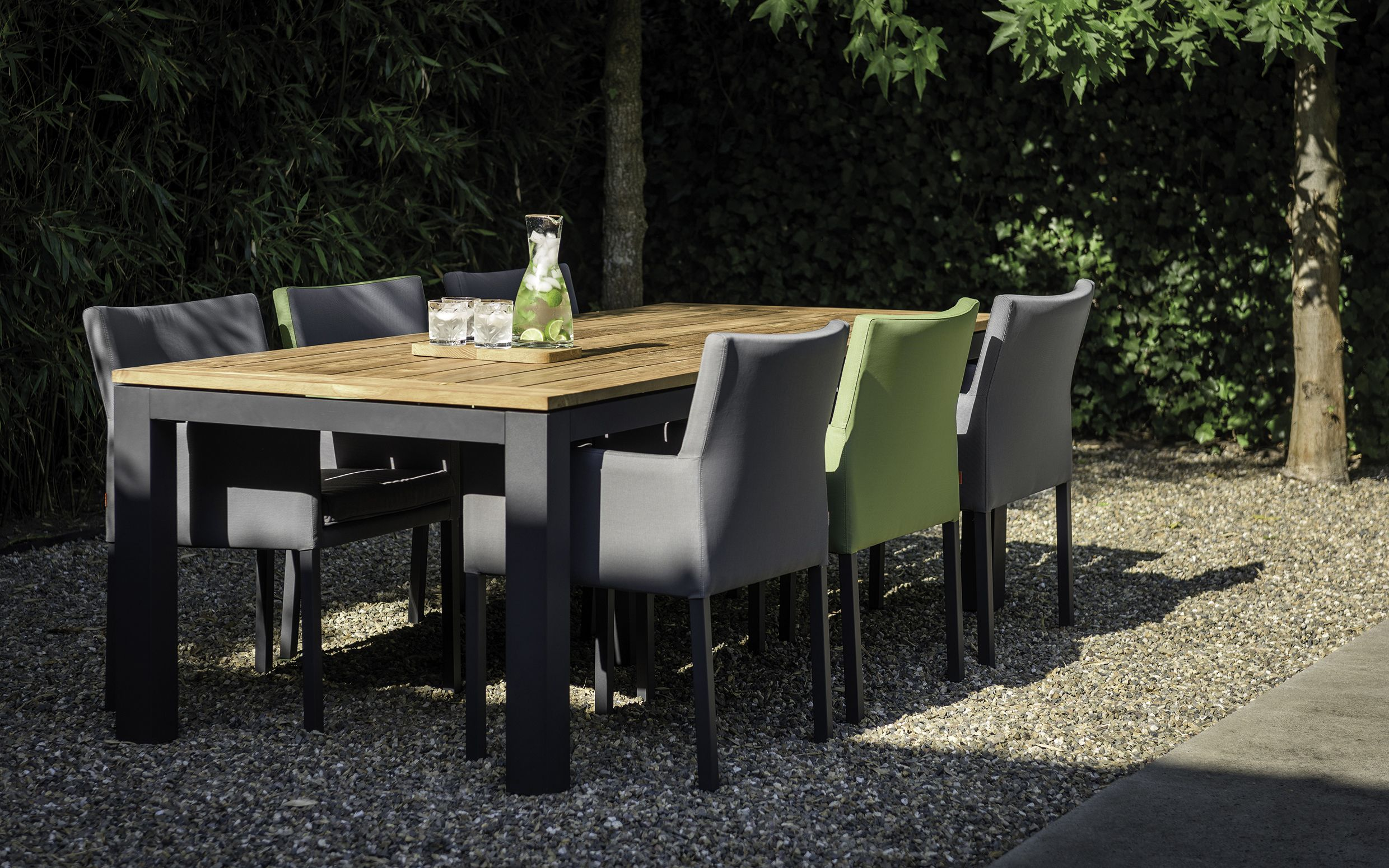 Good The Use Of High Quality Materials And Contemporary Design Make The SUNS  Antas Outdoor Dining Chair An Asset To Any Garden. Its Aluminium Frame,  Covered In ...