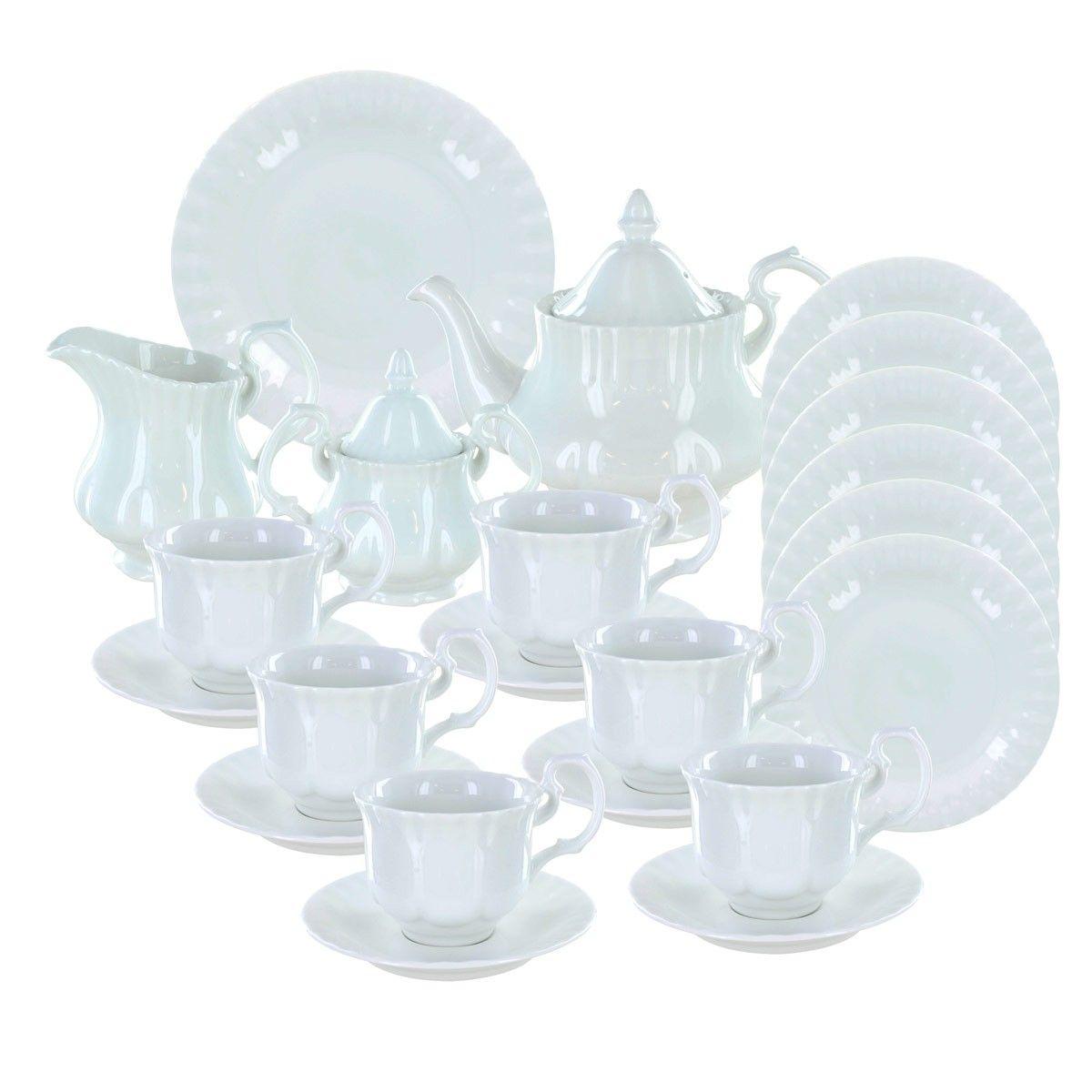Avery Deluxe Porcelain Tea Set