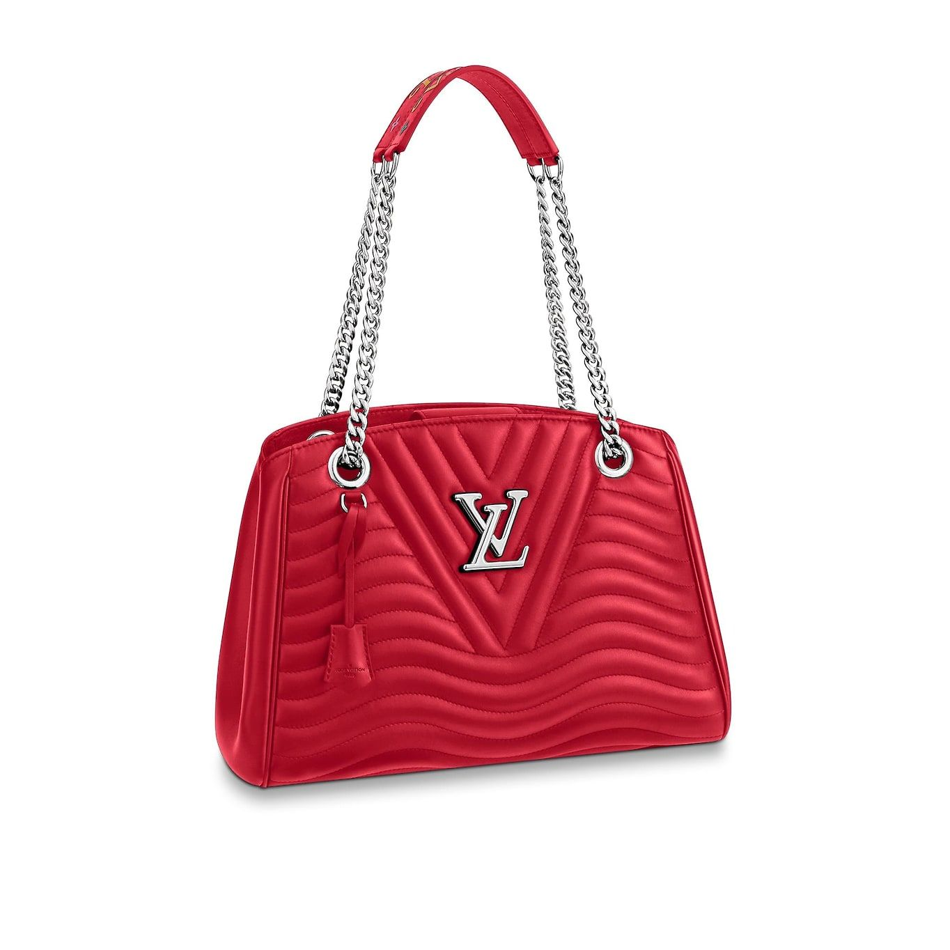 View 1 - Louis Vuitton New Wave Chain Tote LV New Wave Leather in Women s  Handbags Shoulder Bags   Totes collections by Louis Vuitton 2befa89438a9f