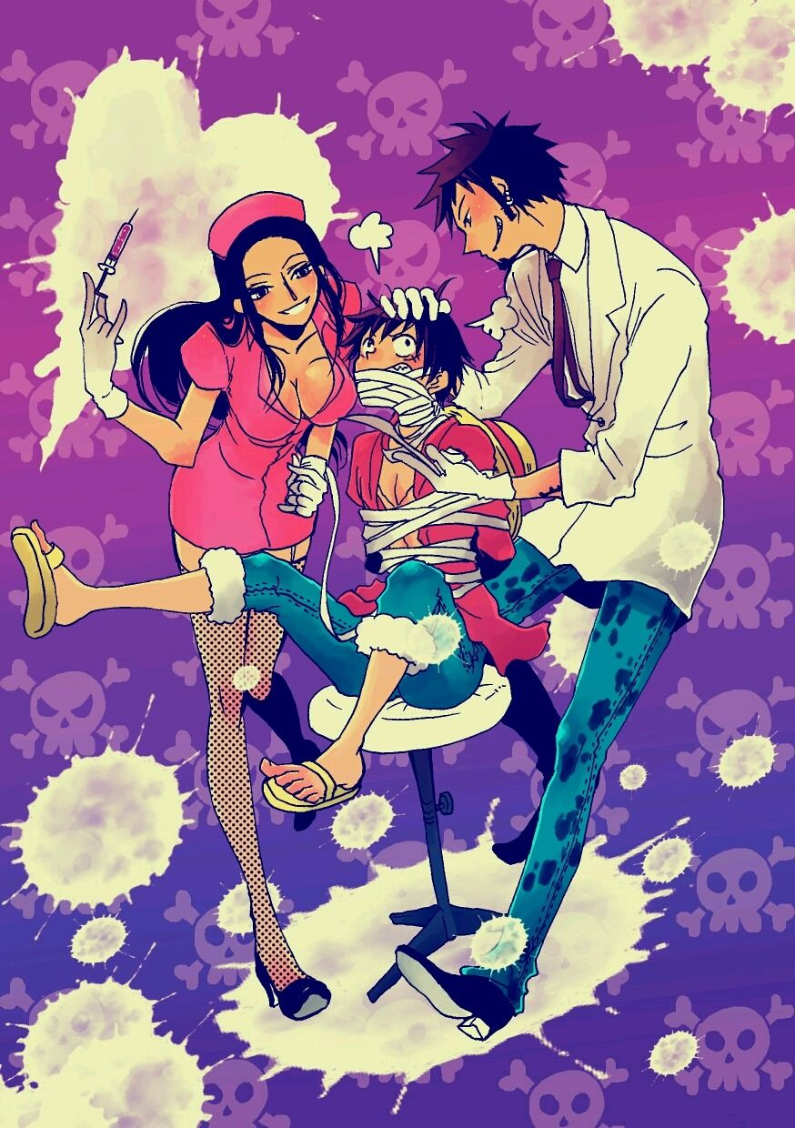 Trafalgar law x nico robin lawro lawbin monkey d luffy one piece law robin lawbin - One piece luffy x robin ...