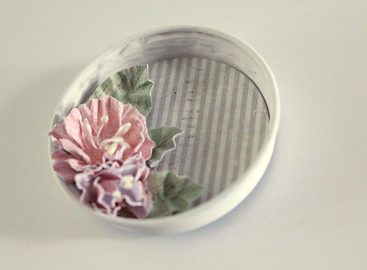 Pilttipurkin kannesta jääkaappimagneetiksi | Pastellipäivä
