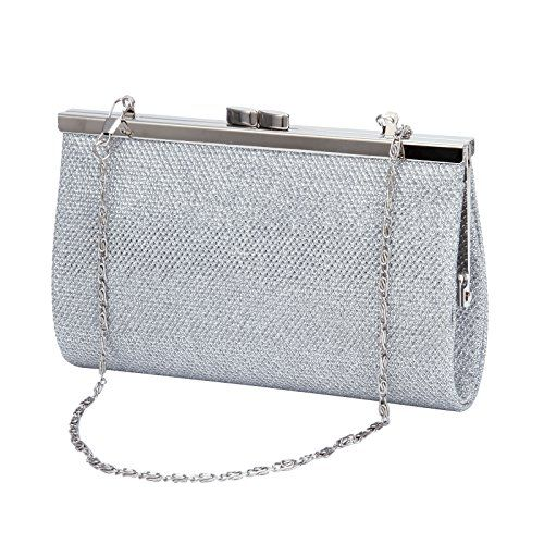 Ladies Mini Glitter Shimmer Evening Party Clutch Bag Clip Clasp Handbag Tote Bag >>> You can find more details by visiting the image link.