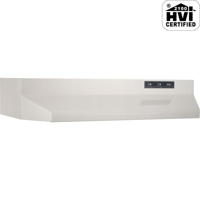 Broan 4024 160 CFM 24 Inch Wide Under Cabinet Range Hood with ...