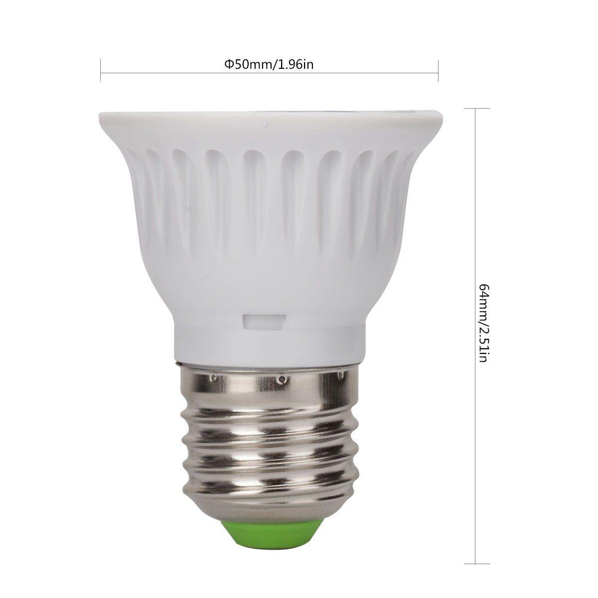 Chichinlighting Rgb E26 Spotlight With Remote Control Dimmable E26 E27 Led Bulbs3w Rgb Color Changing Spotlight With Ir R Ambiance Lighting Light Bulb Led Bulb