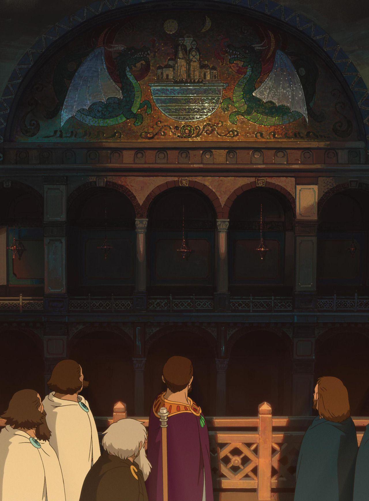 Tales From Eathsea. Directed by Gorō Miyazaki and produced by Studio Ghibli.