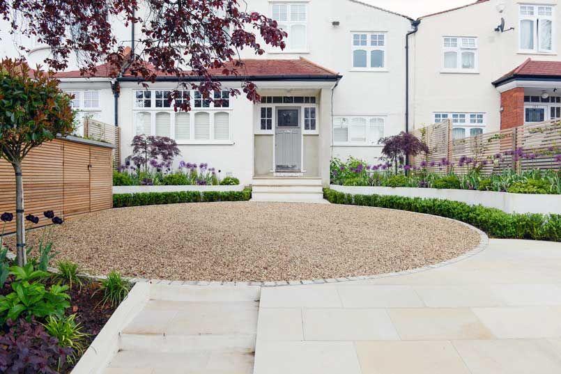 Front Garden Design In London Kate Eyre Garden Design In 2020 Front Garden Garden Design Front Garden Design