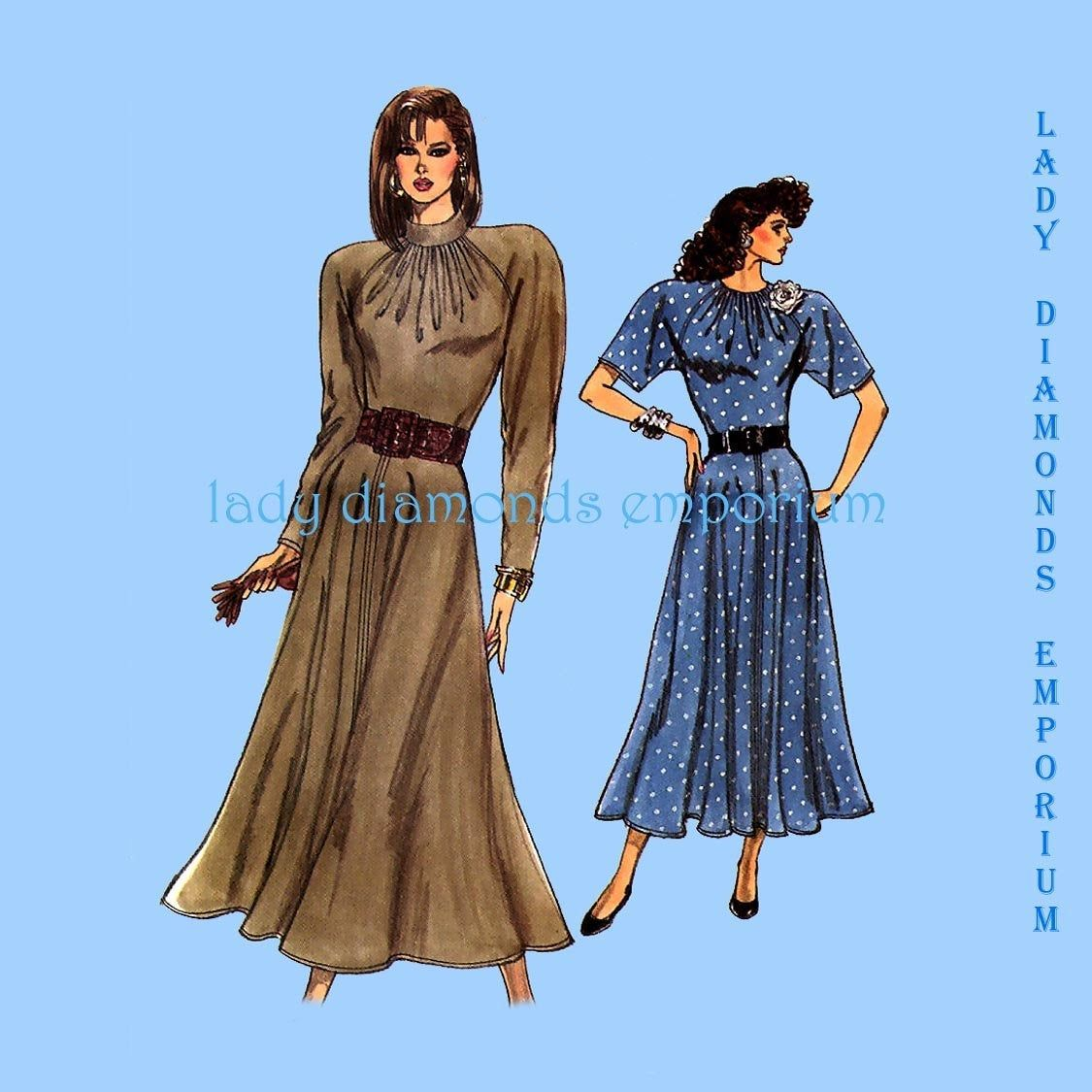 fitted maxi dress pattern