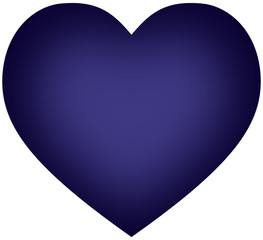 Blue Heart Isolated Stock Photos Royalty Free Images Vectors Video Blue Heart Dark Blue Dark