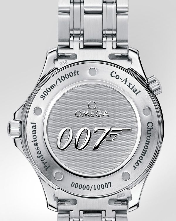 d20e18cb85a OMEGA Seamaster 300 M Chronometer Steel on Steel James Bond Limited Edition  Casino Royale Back