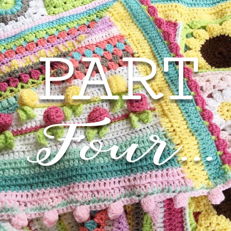 Summer Love CAL | Crochet afghan ideas | Pinterest | Muestras de ...