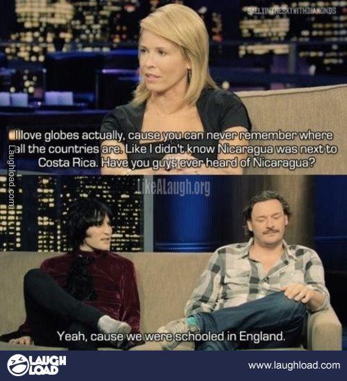 Love it Noel! So blunt!