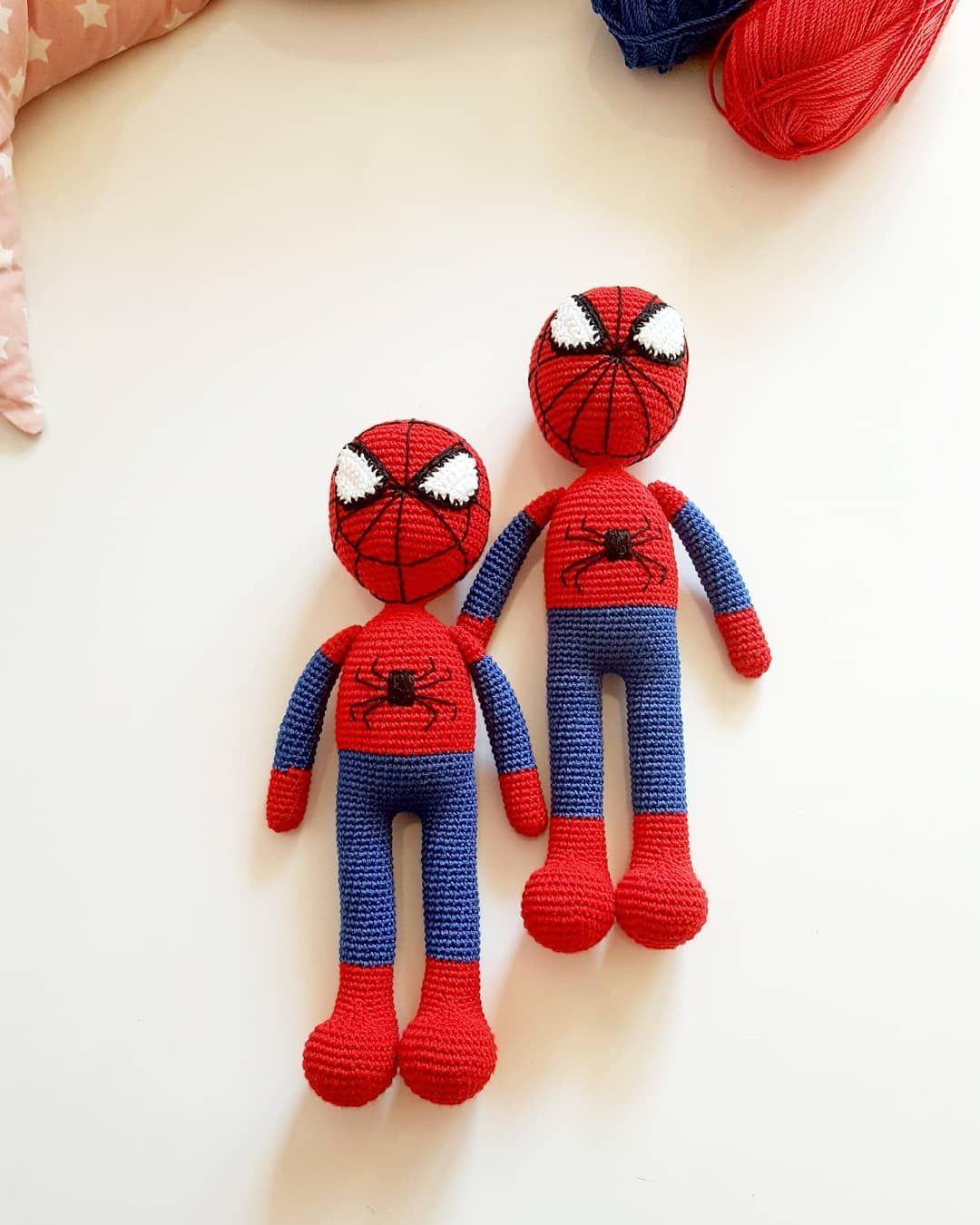 Spider-Man Amigurumi Doll Crochet Patterns Ideas Free | Crochet ... | 1350x1080