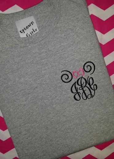 Items similar to Pineapple Monogram T shirt on Etsy