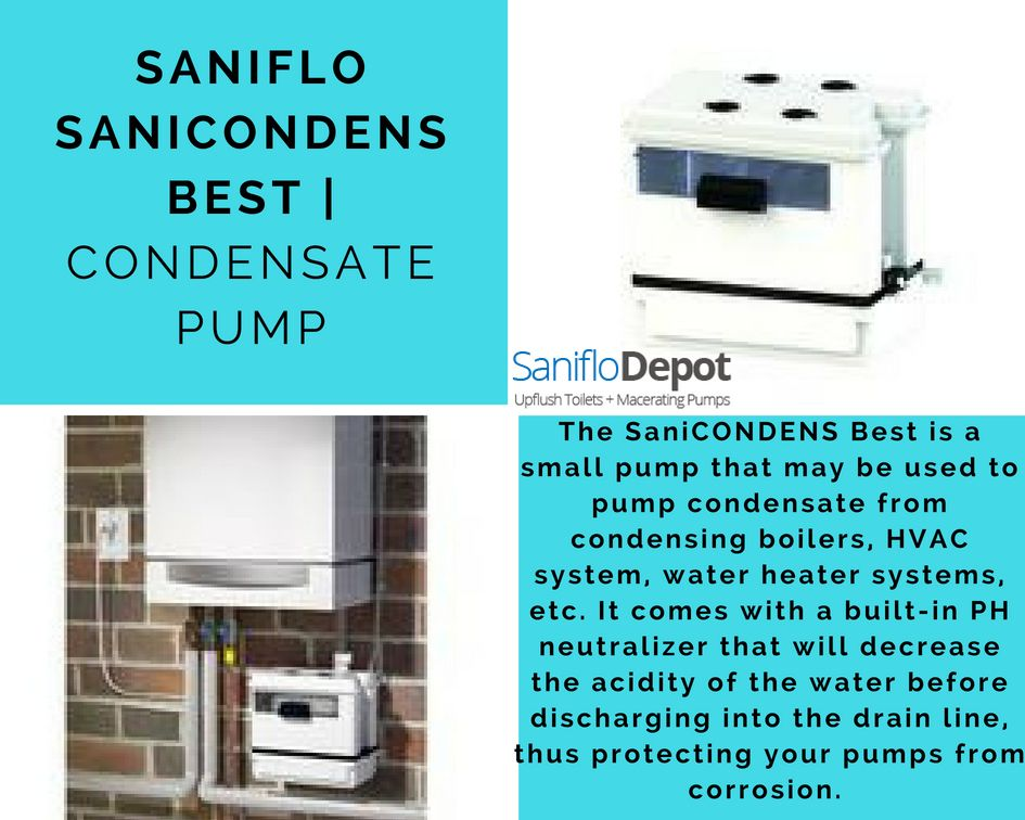 It Will Pump Condensate Water Up To 15 Feet In Height And Or 150 Feet Away From A Soil Stack Hvac System Water Heater Hvac