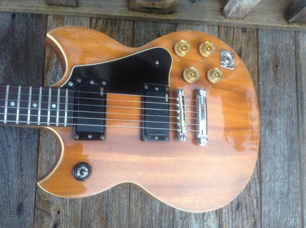 Yamaha SG 90 (1974, Natural Wood)
