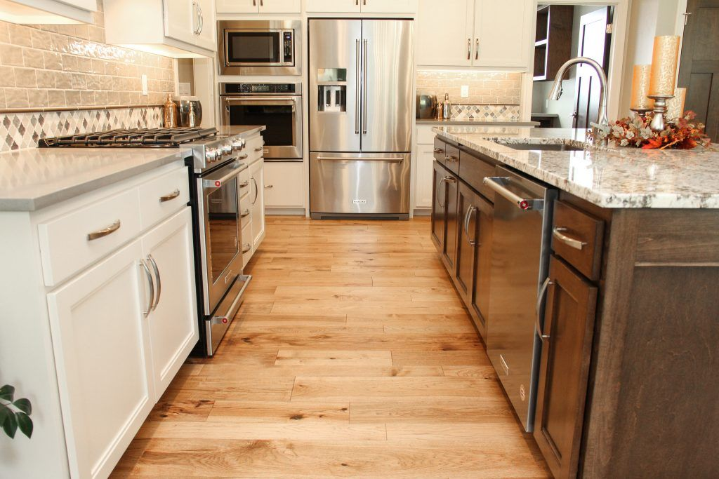 Light Hickory Hardwood Flooring Hickory Hardwood Floors Kitchen