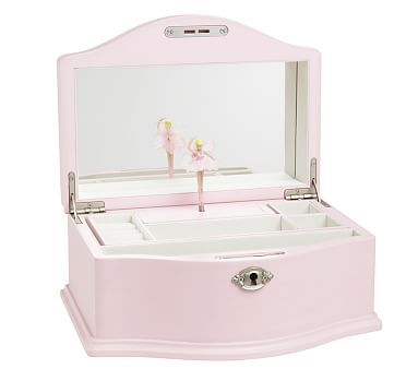 Abigail Jewelry Box Large Pink Jewelry Jewelry Boxes
