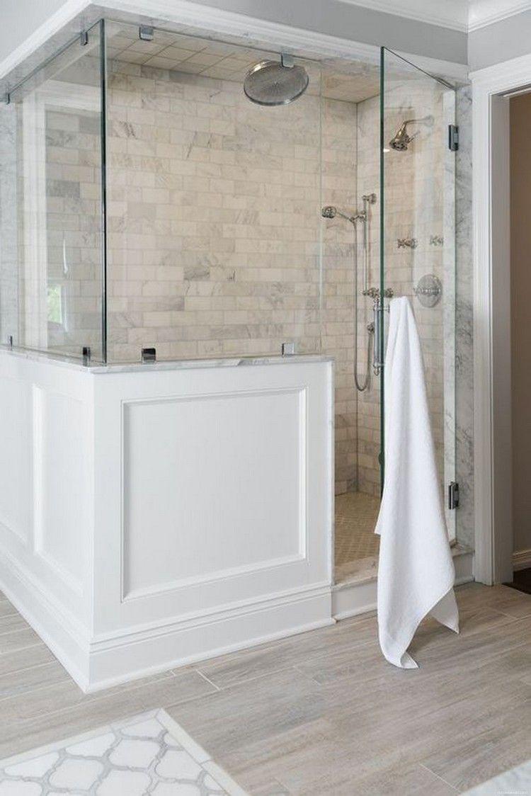 44+ Rustic Farmhouse Bathroom Ideas Shower   Modern ... on Farmhouse Bathroom Floor Tile  id=58627