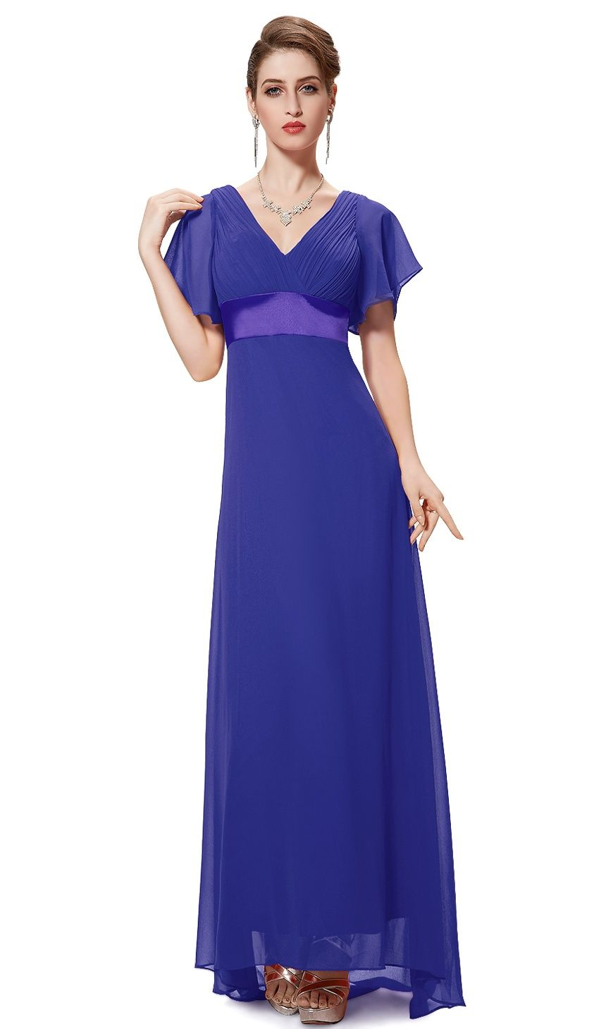 578094c73a38 Ever-Pretty Womens V-Neck Vintage Plus Size Evening Homecoming Party  Bridesmaid Wedding Dress