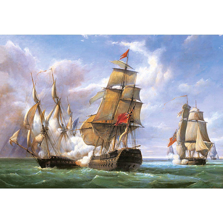 puzzle vessels la bataille de trafalgar castorland 300037 3000 pi 232 ces puzzles bateaux