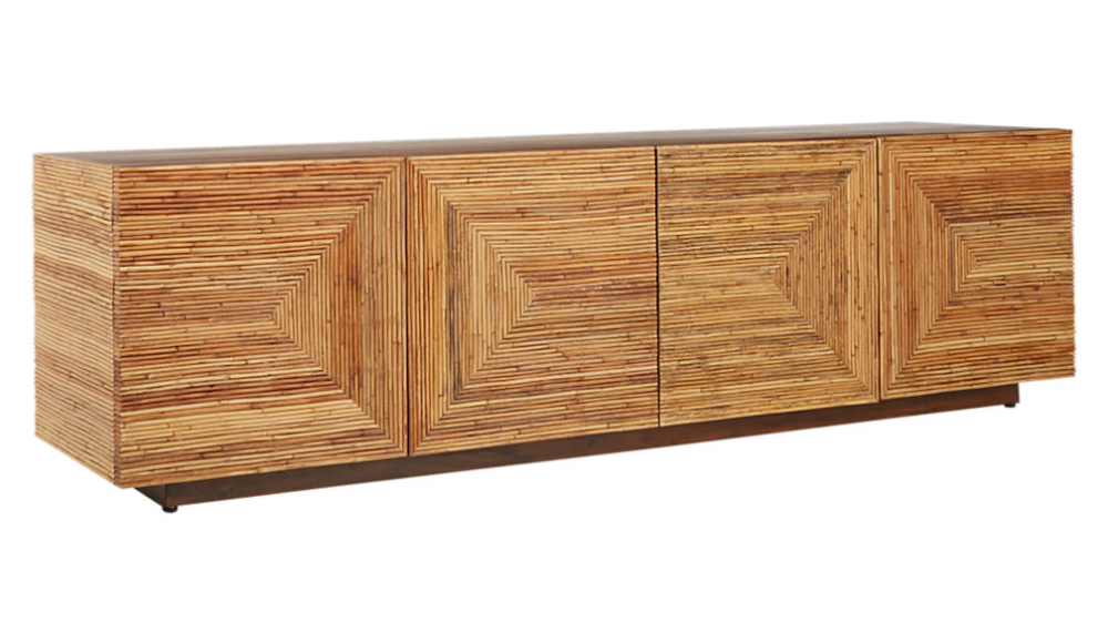 Reflect Rattan Credenza Rattan Modern Home Bar Dining