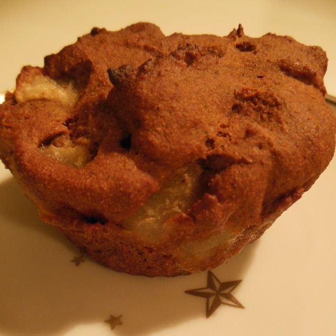 Opskrift på super lakrids/pære muffins, med kun 153 kalorier pr. 100g