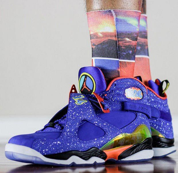 061575e8dd7 An On-Feet Look at the Air Jordan 8 Doernbecher | sneakers | Air ...
